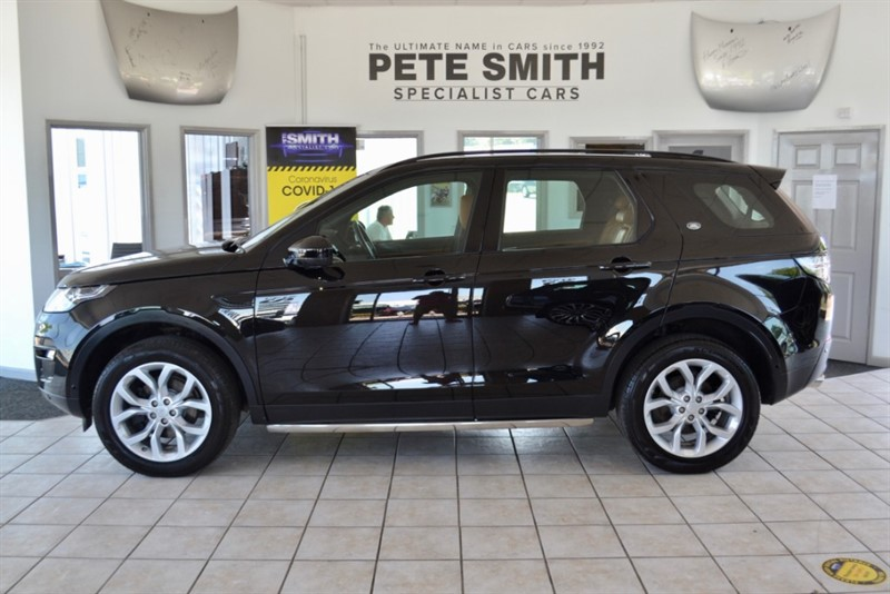 used Land Rover Discovery Sport 2.2 SD4 HSE LUXURY AUTO 7 SEATS TAN WINDSOR LEATHER PANORAMIC ROOF  2015/65 in forest-of-dean-gloucestershire