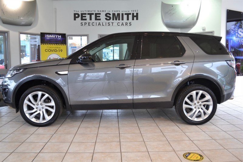 used Land Rover Discovery Sport 2.0 TD4 HSE AUTO 5 DOOR 7 SEATS JUST 14000 MILES PANORAMIC BLACK ROOF 2017/66 in forest-of-dean-gloucestershire