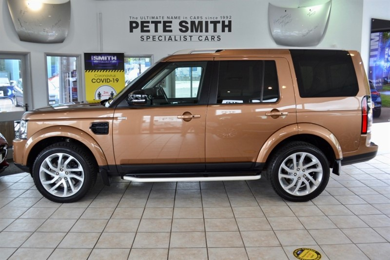 used Land Rover Discovery 4 3.0 SDV6 LANDMARK AUTO 5 DOOR JUST 44000 MILES REAR ENTERTAINMENT SYSTEM 2016/16 in forest-of-dean-gloucestershire