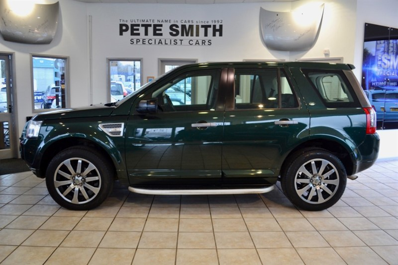 used Land Rover Freelander 2.2 TD4 HSE FULL SERVICE HISTORY 2010/60 in forest-of-dean-gloucestershire