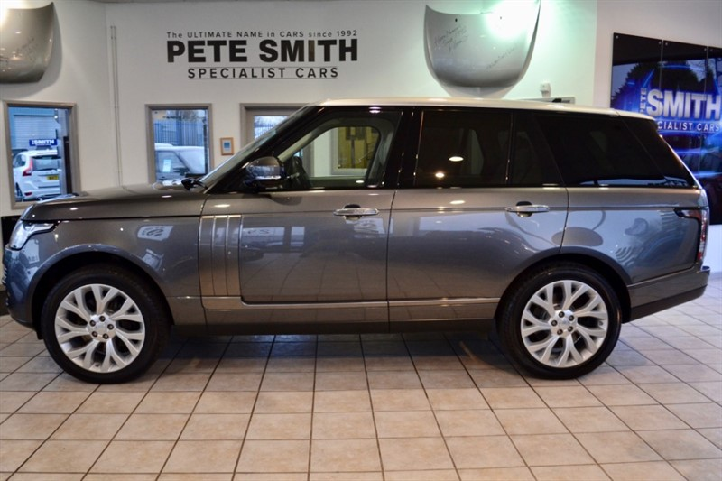used Land Rover Range Rover 4.4 SDV8 AUTOBIOGRAPHY ONLY 48000 MILES CONTRASTING SILVER ROOF 2015/15 in forest-of-dean-gloucestershire