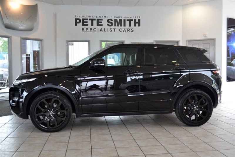 used Land Rover Range Rover Evoque 2.2 SD4 DYNAMIC 2013/63 WITH CARBON UPDGRADES in forest-of-dean-gloucestershire