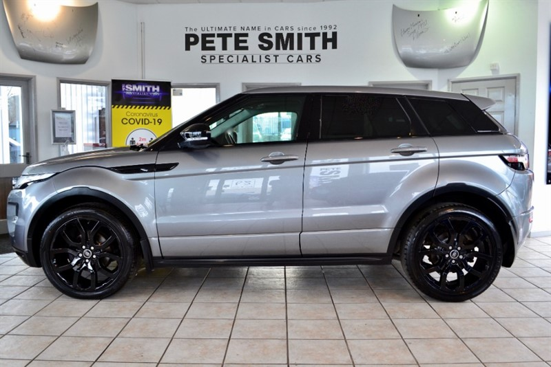 used Land Rover Range Rover Evoque 2.2 SD4 DYNAMIC AUTO 5 DOOR BLACK PACK AND PANORAMIC ROOF 2012/62 in forest-of-dean-gloucestershire