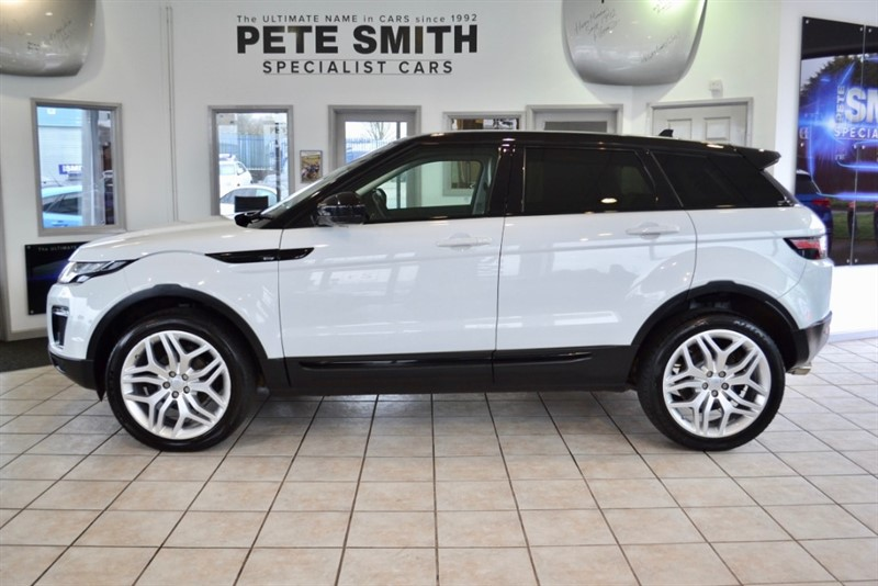 used Land Rover Range Rover Evoque 2.0 ED4 SE TECH 5 DOOR GREAT SPEC FULL LANDROVER SERVICE HISTORY 2015/65 in forest-of-dean-gloucestershire