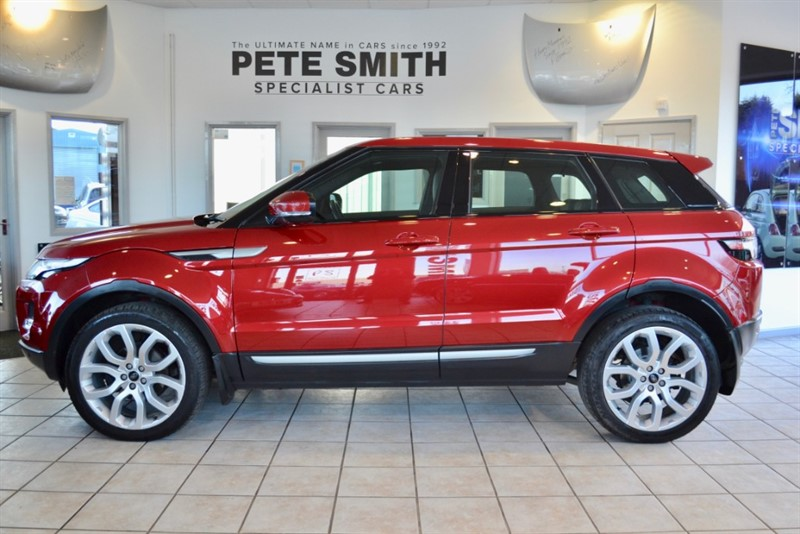 used Land Rover Range Rover Evoque 2.2 SD4 PURE TECH PANORAMIC ROOF,NAVIGATION in forest-of-dean-gloucestershire