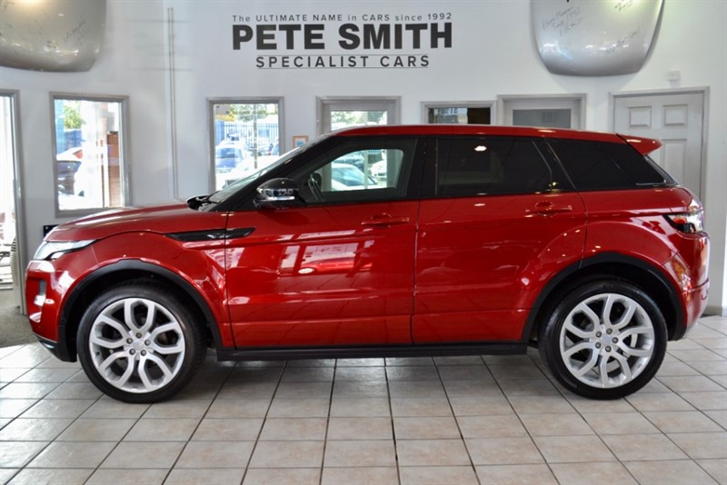 used Land Rover Range Rover Evoque 2.2 SD4 DYNAMIC LUX AUTO WITH PANORAMIC ROOF AND NAVIGATION ONLY 47000 MILES 2012/62 in forest-of-dean-gloucestershire