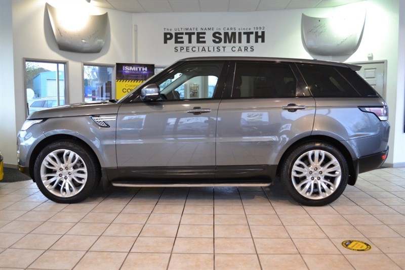 used Land Rover Range Rover Sport 3.0 SDV6 HSE FULL SERVICE HISTORY 2015/15 in forest-of-dean-gloucestershire