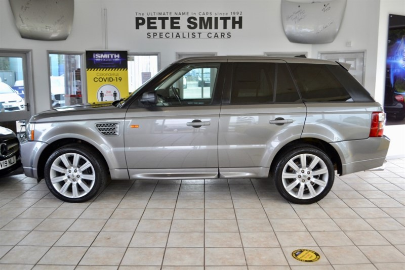 used Land Rover Range Rover Sport 3.6 TDV8 HST FULL SERVICE HISTORY 2009/58 in forest-of-dean-gloucestershire