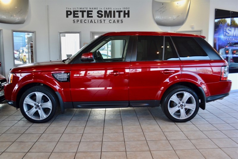 used Land Rover Range Rover Sport 3.0 SDV6 HSE LUXURY FULL LAND ROVER SERVICE HISTORY 2012/62 in forest-of-dean-gloucestershire