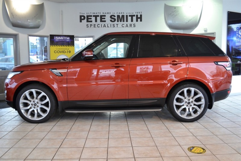 used Land Rover Range Rover Sport 3.0 SDV6 HSE AUTO 5 DOOR A STUNNING EXAMPLE 2014/14 in forest-of-dean-gloucestershire