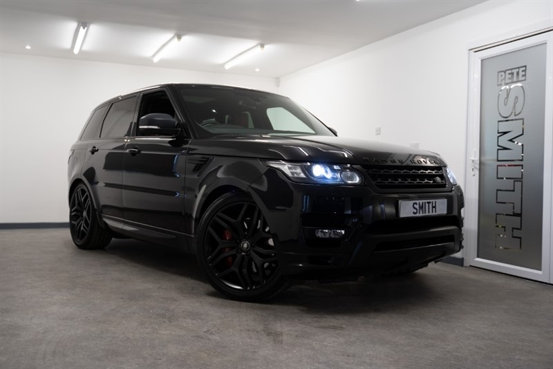 used Land Rover Range Rover Sport 4.4 SDV8 AUTOBIOGRAPHY DYNAMIC ONE OWNER AMAZING SPEC JUST ARRIVED 2016/16 in forest-of-dean-gloucestershire