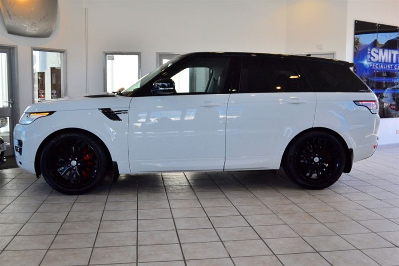 used Land Rover Range Rover Sport 2016/65 3.0 SDV6 HSE WITH PANORAMIC GLASS ROOF & 7 SEATS in forest-of-dean-gloucestershire