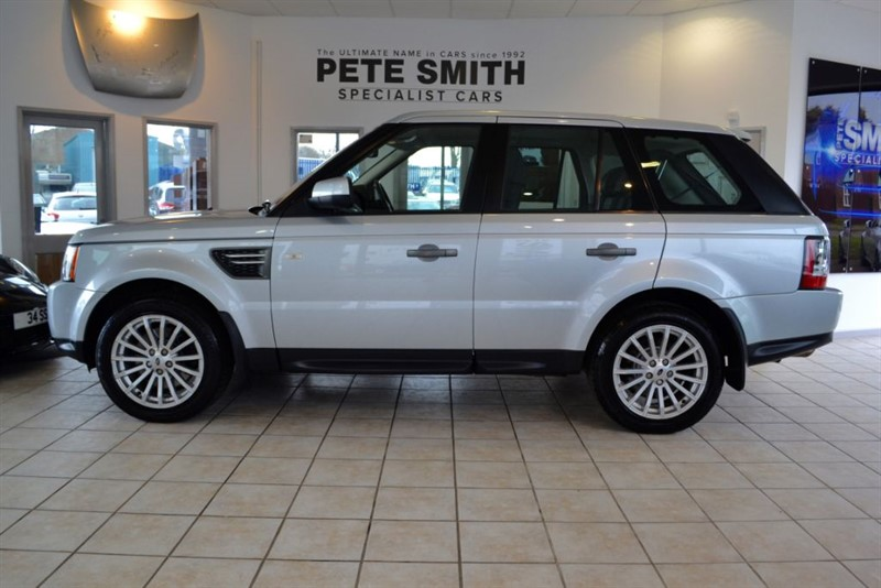 used Land Rover Range Rover Sport 3.0 TDV6 SE WITH JUST THE ONE OWNER FROM NEW in forest-of-dean-gloucestershire