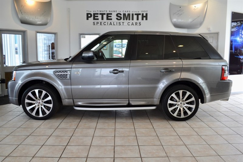 used Land Rover Range Rover Sport 3.0 TDV6 AUTOBIOGRAPHY SPORT WITH RED/BLACK LEATHER INTERIOR 2011/ in forest-of-dean-gloucestershire