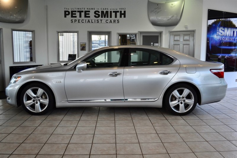 used Lexus LS 460 4.6 460 SE-L 4 DOOR AUTOMATIC AMZING LUXURIOUS SPECIFICATION  2007/07 in forest-of-dean-gloucestershire
