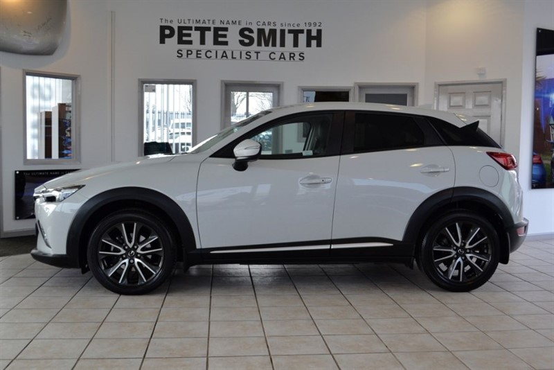 used Mazda CX-3 1.5 D SPORT NAV 2016/16 WITH JUST THE ONE OWNER FROM NEW in forest-of-dean-gloucestershire