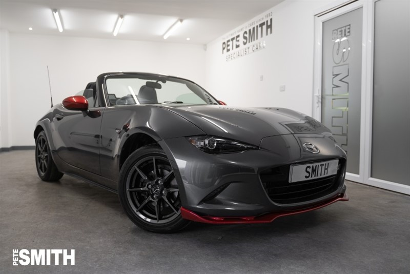used Mazda MX-5 1.5 ICON SPECIAL EDITION JUST 17000 MILES TOUCH SCREEN NAVIGATION 2016/66 in forest-of-dean-gloucestershire