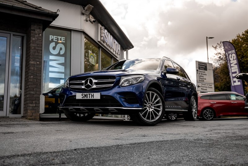 used Mercedes 250 GLC  D 4MATIC AMG LINE PREMIUM PANORAMIC ROOF 2017/17 in forest-of-dean-gloucestershire