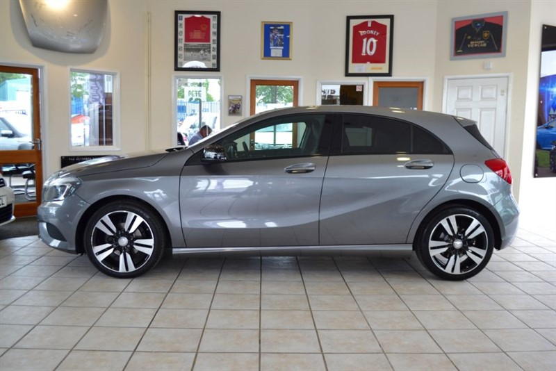 used Mercedes A180 CDI 1.5 BLUEEFFICIENCY SPORT WITH JUST £20 A YEAR ROAD TAX in forest-of-dean-gloucestershire