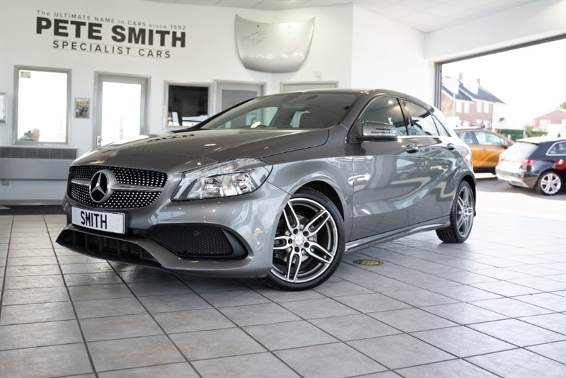 used Mercedes A180d AMG LINE 7G-DCT AUTO 5 DOOR NAVIGATION JUST £20 ROAD TAX 2016/66 in forest-of-dean-gloucestershire