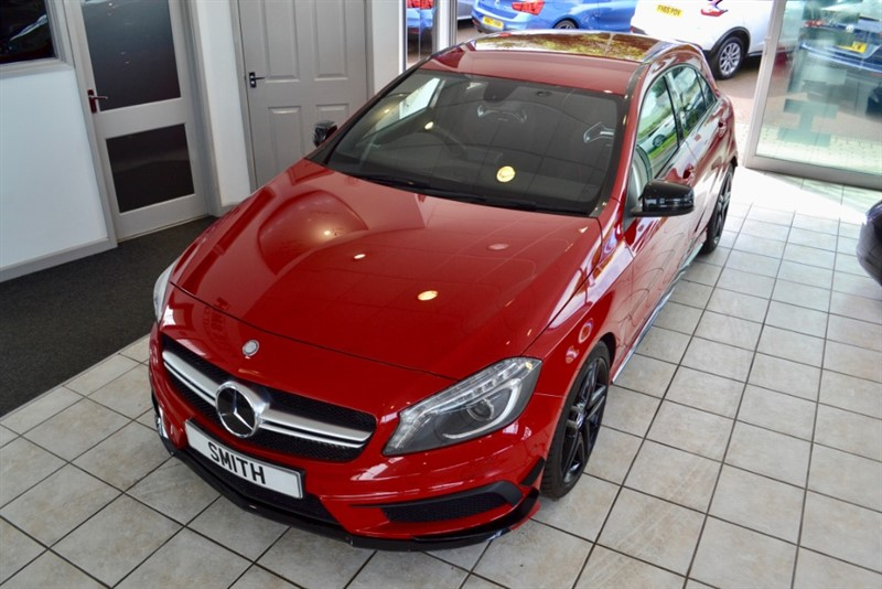 used Mercedes A45 2.0 AMG 4MATIC 2013/63  360 BHP FULL SERVICE HISTORY in forest-of-dean-gloucestershire