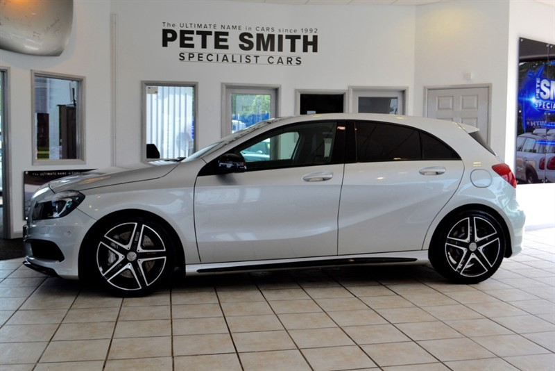 used Mercedes A45 2.0 TURBO AMG 4MATIC 5 DOOR HATCHBACK COMPLETE WITH FULL MERCEDES SERVICE HISTORY 2013/63 in forest-of-dean-gloucestershire