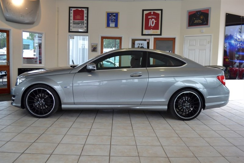 used Mercedes C250 CDI BLUEEFFICIENCY AMG SPORT in forest-of-dean-gloucestershire