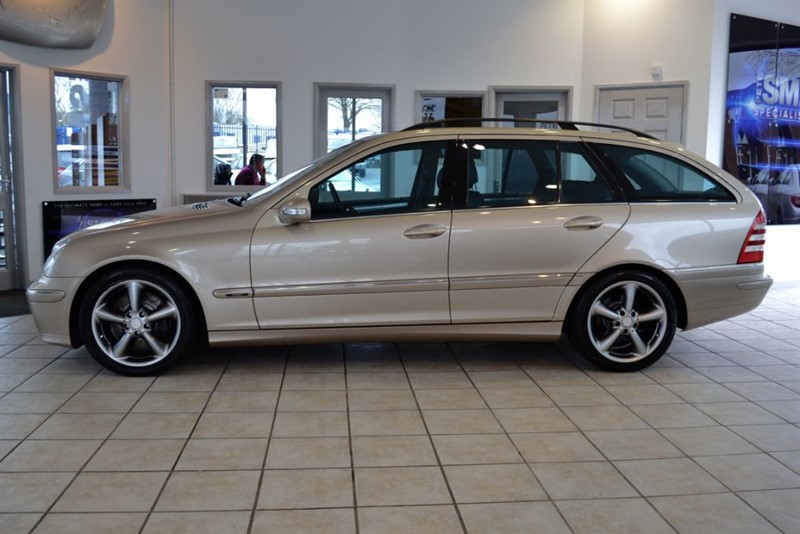 used Mercedes C270 2.7 CDI AVANTGARDE SE ESTATE WITH BLACK LEATHER in forest-of-dean-gloucestershire