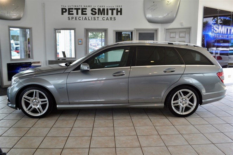 used Mercedes C220 CDI BLUEEFFICIENCY SPORT 2011/11 in forest-of-dean-gloucestershire