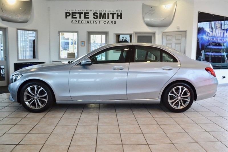 used Mercedes C220 2.1 D SPORT SALOON WITH JUST THE ONE OWNER FROM NEW 2015/65 in forest-of-dean-gloucestershire