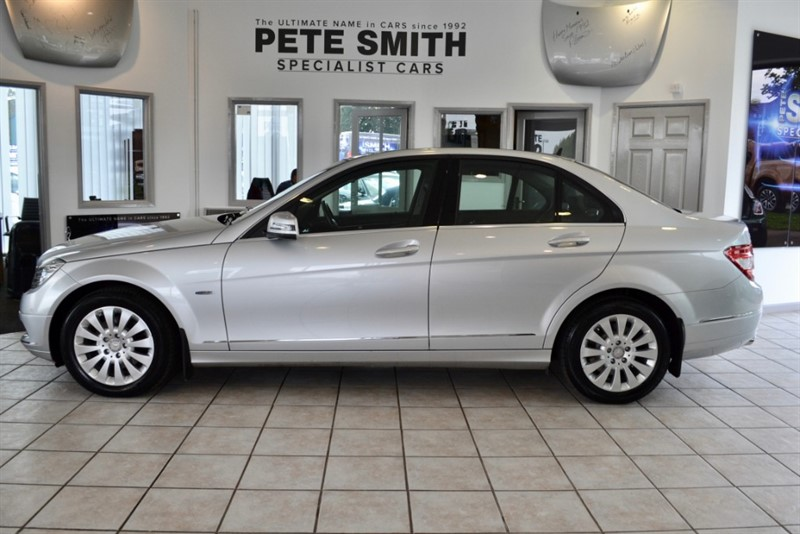 used Mercedes C220 CDI BLUEEFFICIENCY ELEGANCE SALOON 2010/60 in forest-of-dean-gloucestershire