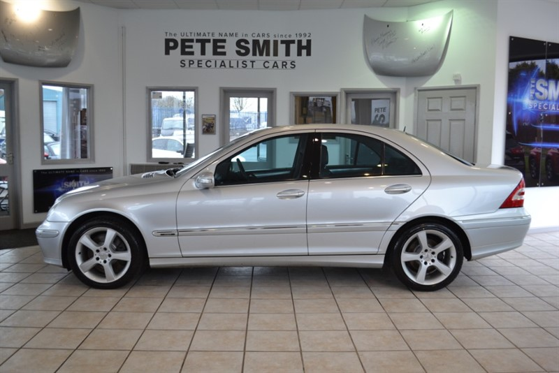 used Mercedes C320 CDI AVANTGARDE SE SERVICE HISTORY 2005/55 in forest-of-dean-gloucestershire