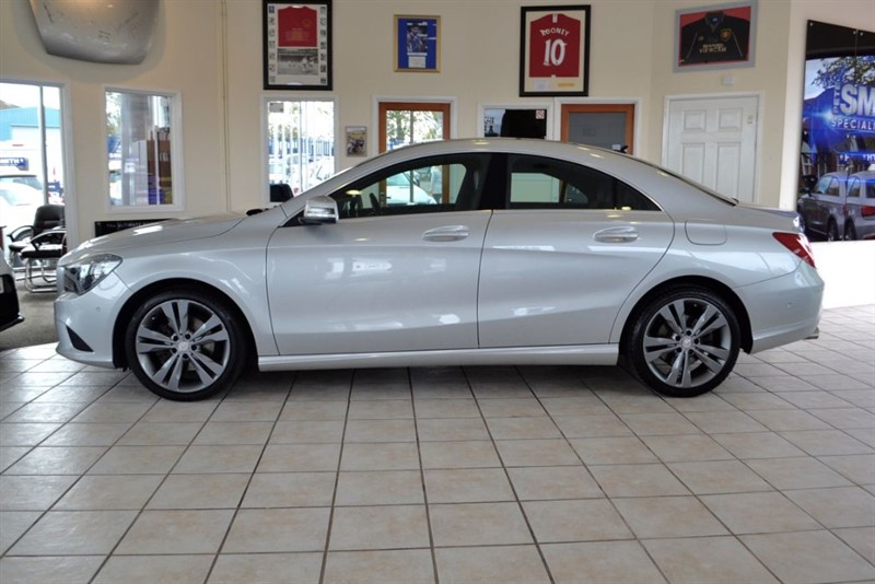 used Mercedes CLA180  CLA 180 SPORT WITH PANORAMIC ROOF in forest-of-dean-gloucestershire