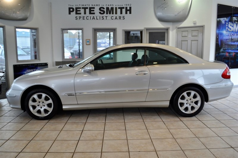 used Mercedes CLK270 CDI ELEGANCE LOW MILEAGE WITH FULL SERVICE HISTORY 2004/04 in forest-of-dean-gloucestershire
