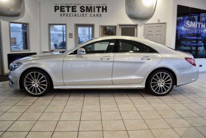 used Mercedes CLS220 CLS 220 BLUETEC AMG LINE COUPE 2015/65 in forest-of-dean-gloucestershire