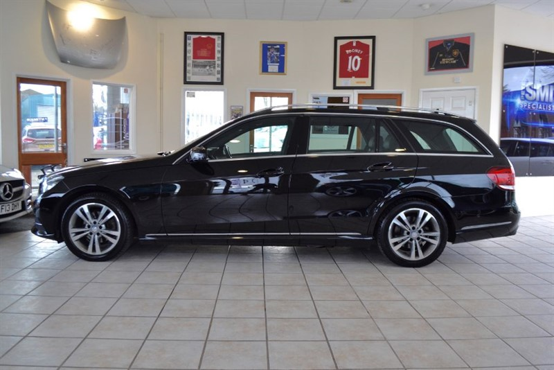 used Mercedes E220 CDI SE ESTATE WITH COMMAND NAVIGATION in forest-of-dean-gloucestershire