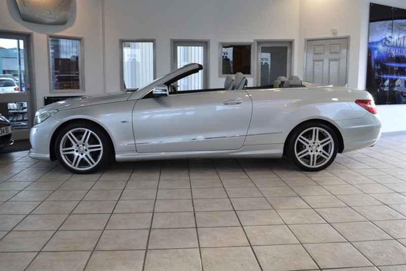 used Mercedes E250 2.1 CDI BLUEEFFICIENCY SPORT CONVERTIBLE WITH NAVIGATION & AIRSCARF HEATING in forest-of-dean-gloucestershire