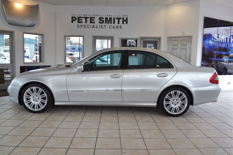 used Mercedes E280 3.0 CDI SPORT 2006/56 WITH BLACK LEATHER TRIM in forest-of-dean-gloucestershire