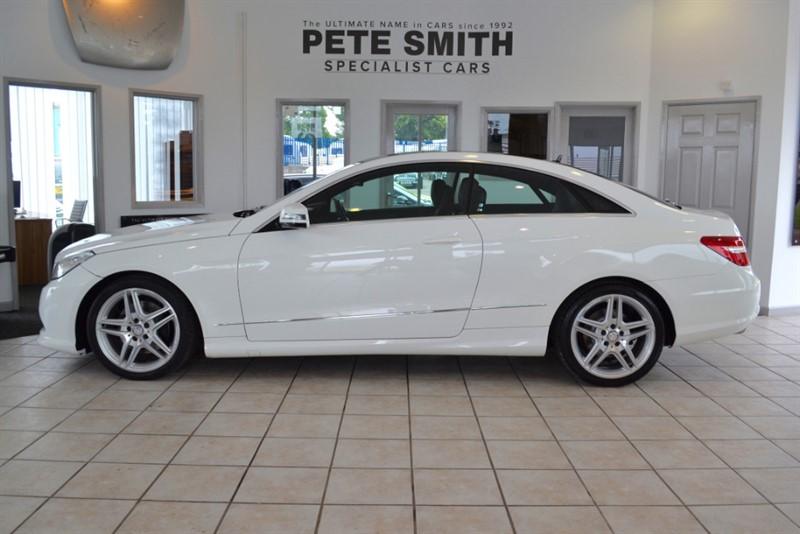 used Mercedes E220 2.1 CDI BLUEEFFICIENCY SPORT COUPE WITH PAN GLASS ROOF 2013/13 in forest-of-dean-gloucestershire