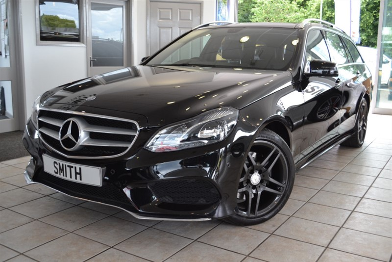 used Mercedes E300 2.1 BLUETEC HYBRID AMG LINE PREMIUM WITH PANORAMIC  ROOF in forest-of-dean-gloucestershire