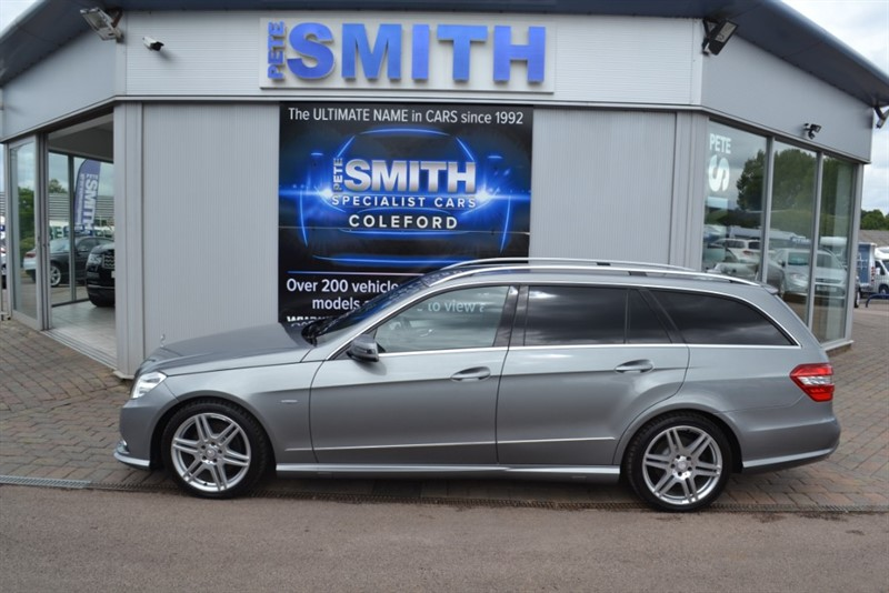 used Mercedes E350 3.0 CDI BLUEEFFICIENCY SPORT AUTO ESTATE AIR SUSPENSION NAVIGATION  AND FULL SERVICE HISTORY 2011/61 in forest-of-dean-gloucestershire