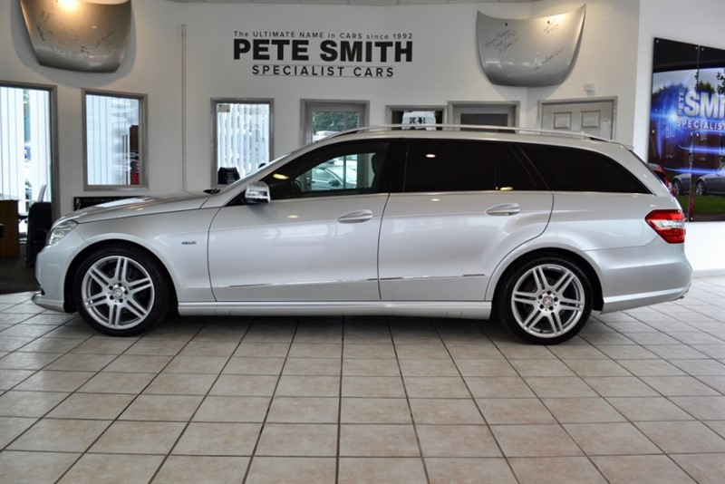 used Mercedes E350 3.0 CDI BLUEEFFICIENCY SPORT EDITION 125 ESTATE 2012/61 in forest-of-dean-gloucestershire