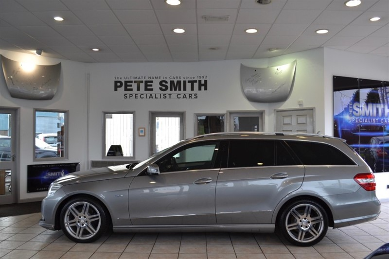 used Mercedes E350 3.0 CDI BLUEEFFICIENCY SPORT AUTO ESTATE WITH NAVIGATION  AND FULL SERVICE HISTORY 2011/61 in forest-of-dean-gloucestershire