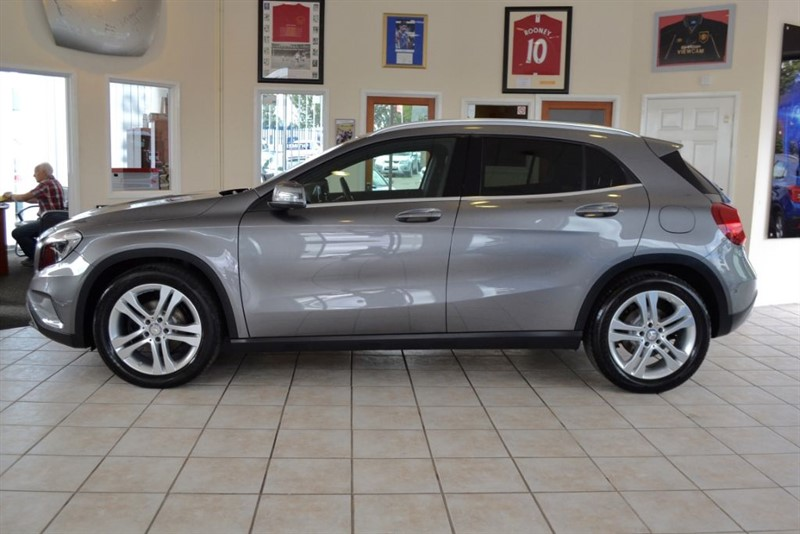 used Mercedes GLA220 2.1 GLA220 CDI 4MATIC SE EXECUTIVE in forest-of-dean-gloucestershire