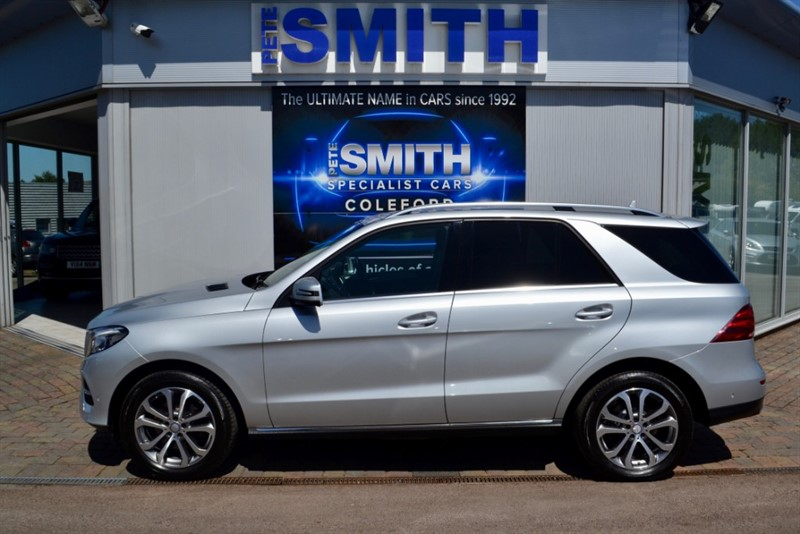 used Mercedes GLE250 2.2 D 4MATIC SPORT AUTOMATIC ONE OWNER FULL MERCEDES HISTORY BIG SPEC  2016/66 in forest-of-dean-gloucestershire
