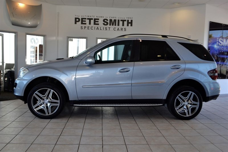 used Mercedes ML320 3.0 CDI SPORT 2009/09 WITH COMMAND NAVIGATION in forest-of-dean-gloucestershire