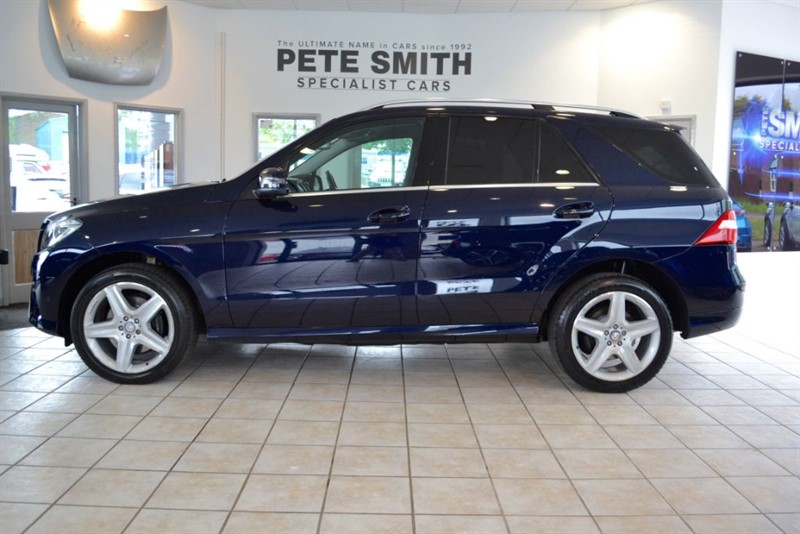used Mercedes ML350 3.0 BLUETEC AMG LINE WITH NAVIAGTION 2014/64 in forest-of-dean-gloucestershire