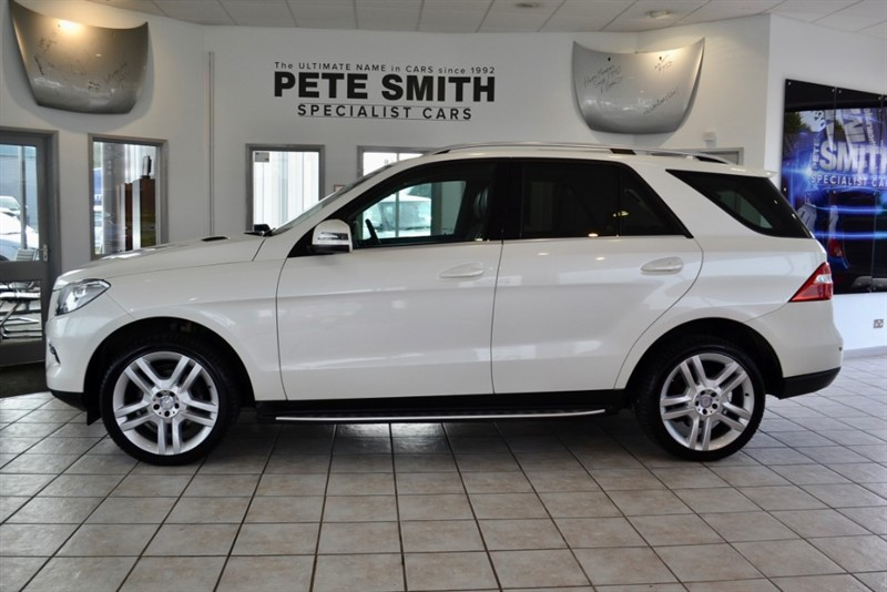 used Mercedes ML250 2.2 BLUETEC SE WITH NAVIGATION AND BLACK HEATED LEATHER 2013/13 in forest-of-dean-gloucestershire
