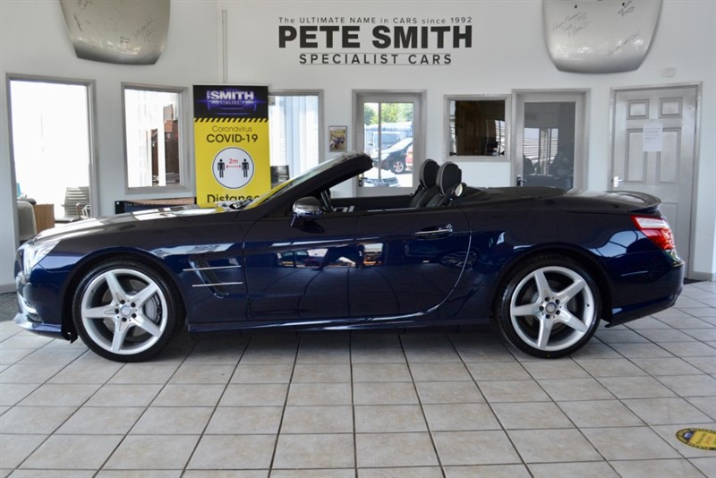 used Mercedes SL SL500  4.7 V8 AMG SPORT 1 OWNER ONLY 35000 MILES  FULL MERCEDES HISTORY 2016/16 in forest-of-dean-gloucestershire
