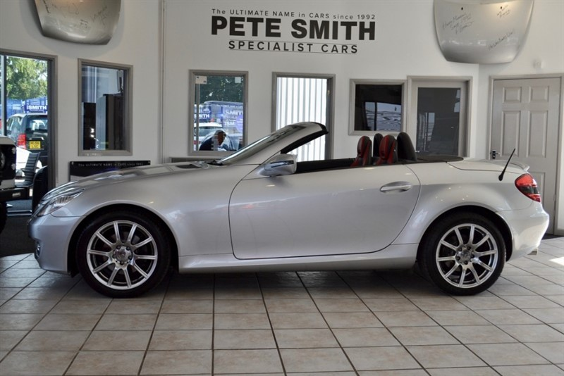 used Mercedes SLK280 SLK 280 LOW MILEAGE WITH OVER £10000 OF OPTIONS 2008/58 in forest-of-dean-gloucestershire